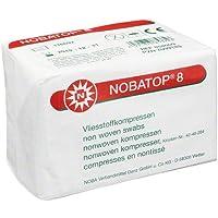 NOBATOP 8 Kompressen 7,5x7,5 cm unsteril 100 St preisvergleich bei billige-tabletten.eu