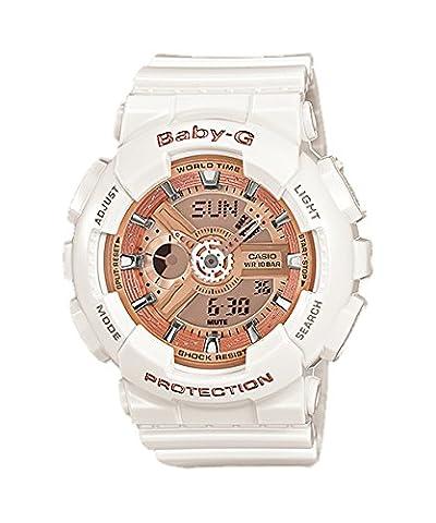 Casio Baby-G – Damen-Armbanduhr mit Analog/Digital-Display und Resin-Armband – BA-110-7A1ER