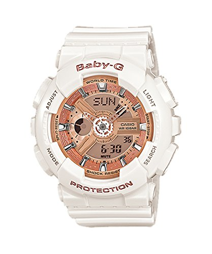 Uhren Damen Baby-g Casio (Baby-G Damen Armbanduhr BA-110-7A1ER)