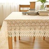 Unbekannt Liuyu · Lebendes Haus Tischdecke Stoff Baumwolle Hanf Tuch Art Einfache rechteckige Tee Tisch Hochzeit Restaurant Party Tisch (Dieses Produkt nur Tischdecken verkauft) (größe : 14 * 215cm)