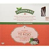 Hornimans - Té rojo - con anís y un toque de ciruela - 100 bolsitas - [Pack de 2]