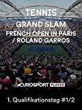 Tennis: Grand Slam - French Open 2019 in Paris / Roland Garros - 1. Qualifikationstag