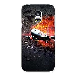 Blast Plain Back Case Cover for Galaxy S5 Mini