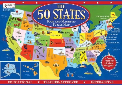 the-50-states-book-and-magnetic-puzzle-map-readers-digest-learning-with-magnetc-states-and-board-wri