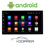 I-Copper Universal Android Infotainment System 7.0 inch Capacitive Touchscreen Double Din Car Stereo
