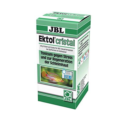 JBL 1004100 Heilmittel gegen Stress für Aquarienfische, Ektol cristal, 80 g