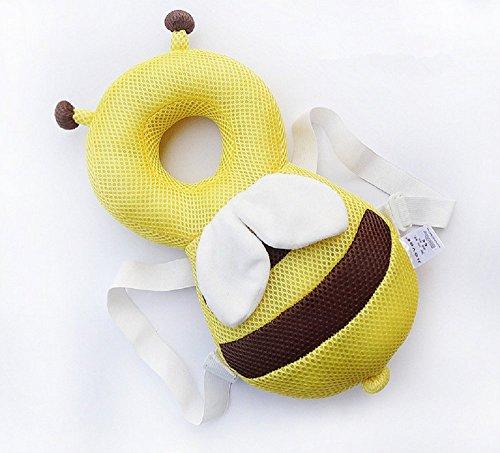 f Schutz, verstellbare Infant Sicherheit Pads für Baby Walkers Schutz Kopf Cute klein Bee ()