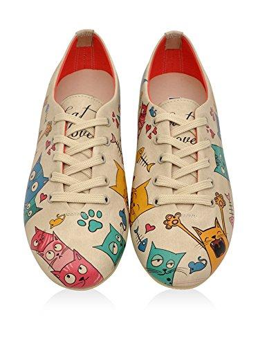 DOGO Oxford - Cat Lovers Beige