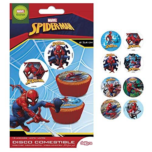 Spiderman Essbar Zucker Disc Kuchen Topper-X16 (Topper Kuchen Bei)