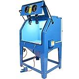 Sandstrahlkabine mit Absaugung Strahlkabine Sandstrahlgerät mit Absaugvorrichtung - 1000 Liter