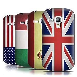 Stuff4 Hülle / Hülle für Samsung Galaxy S3 Mini / Multipack (43 Designs) / Flagge Kollektion