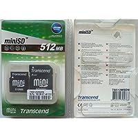 Transcend 512 Mo Carte mémoire SD 45x TS512MSDM