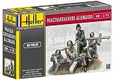 Heller - 49606 - Figurine - Panzergrenadiers Allemands