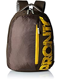 Pronto Thunder 20 Ltrs Brown Casual Backpack (8806 - CF)