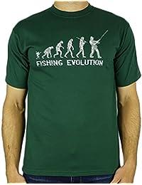 Fishing Evolution - Regalo divertido de la pesca del cumpleaños / presente para hombre de la