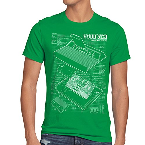 Atari VCS 2600 Blueprint T-shirt for Men