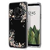 Spigen Samsung Galaxy S9 Hülle [Liquid Crystal Blossom] Soft Flex Silikon Handyhülle Blossom DesignTransparent Schutzhülle für Samsung Galaxy S9 Case Cover - Nature