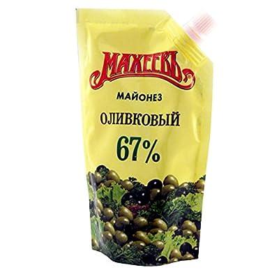 Lackmann Salatmayonnaise mit Olivenöl, Macheew