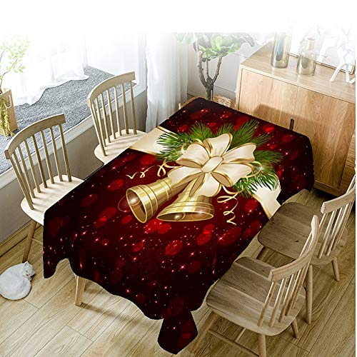 Knee Pad Polyester Bedruckte Stoff Valentinstag Weihnachtsfest Stil Digitale Tischdecke Home Mode...