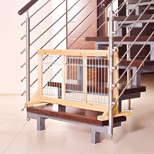 PaylesswithSS Schutzgitter für Welpen, kleine Hunde, Treppen, Tür, verstellbar