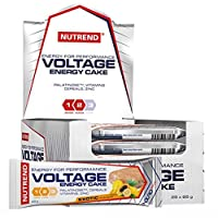 Nutrend VOLTAGE ENERGY CAKE PROTEIN BAR 25x65g Wild Cherry Flavor combines a reat taste and a perfect form of energy intended for replenishment of energy GI 32 vitamin C E zinc
