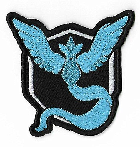 ic Patch (7,6cm) Aufbügeln oder nähen auf Badge Aufnäher Souvenir DIY Kostüm Team Instinct Mystic Valor (Diy Pokeball)