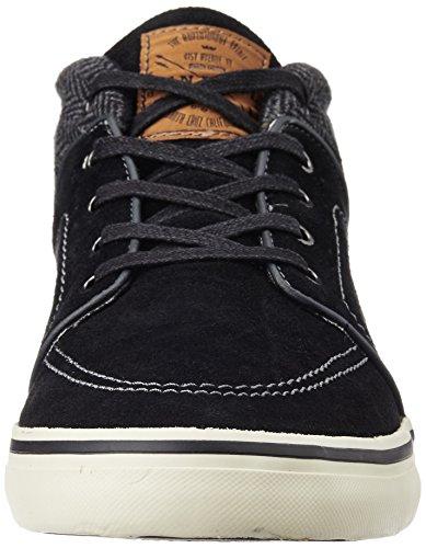 ONeill Mens SantaCruz Mid Suede High Top Sneakers / Trainers Black