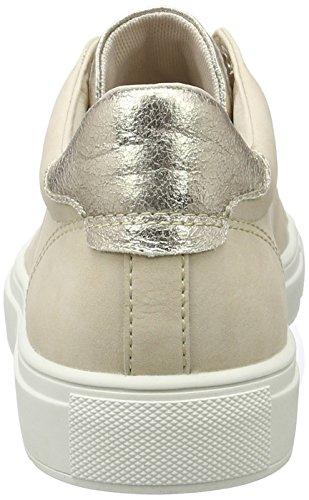 ESPRIT Damen Sandrine Lace Up Sneakers Beige (skin Beige 280)