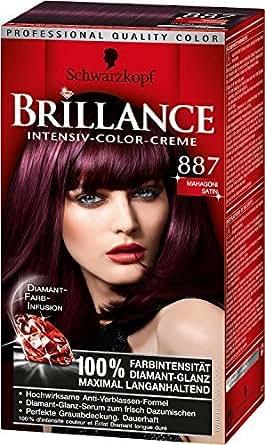 Schwarzkopf - Coloration Brillance 887 Acajou Satin