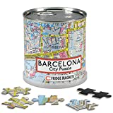 Extra Goods Barcelona 89600 Magnetisches Puzzle in Dose, 26 x 35 cm, 100 Stück