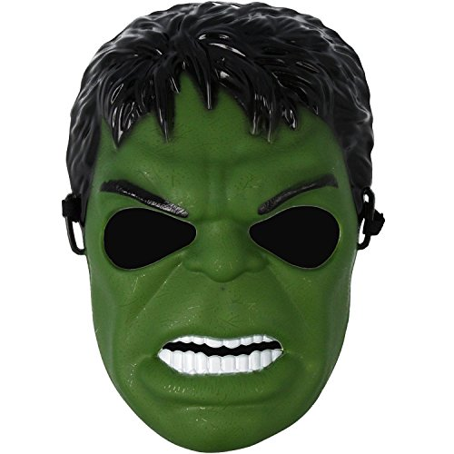 Hulk Maske in Grün, ideal für Kostüm Halloween
