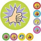 234 Mini-Daumen-hoch-Aufkleber/Sticker