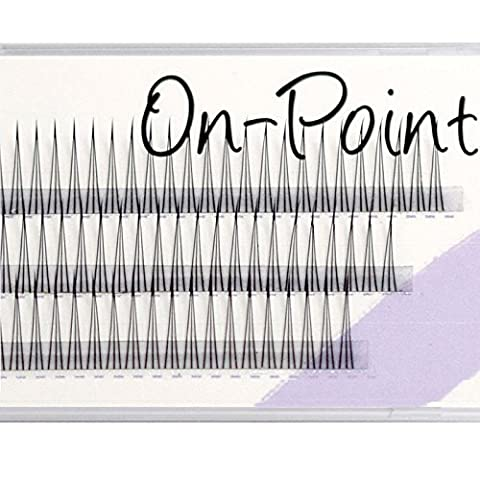 EyeEnvy On Point Individual Lashes Express Lash Extentions Flares Weekend (12mm)