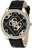 Guess u0473l245mm, de acero inoxidable, Color Azul Novilla Mineral Reloj de mujer