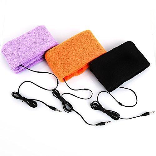 er bequem Schlafen Kopfhörer Sport-Stirnband Kopfhörer Headset (orange) (Neuheit Stirnbänder)