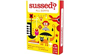 SUSSED All Sorts - The Hilarious Who Knows Who Best Card Game - Treat Yourself