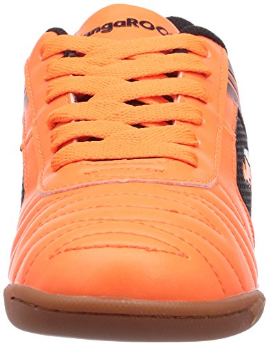 KangaROOS KangaCourt 2075, Low-Top Sneaker bambino Arancione (Orange (neon orange/black 795))