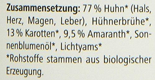 defu Bio Nassfutter für Hunde Huhn 200 g Gluten und Getreidefrei, 12er Pack (12 x 200 g) - 2