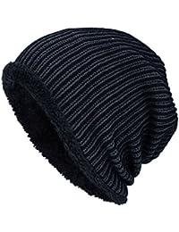 Envoi gratuit Kobay Hommes Hiver Bonnet Ski doux épais 965ab4299e7