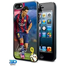 iPhone 5/5S Hard Case - F.C Barcelona (Suarez - 3D) by Footie Gifts