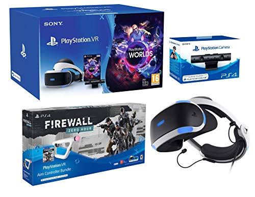 PlayStation VR2 (CUH-VR2) Pack Firewall: Zero Hour + Aim Controller + VR Worlds + Kamera V2