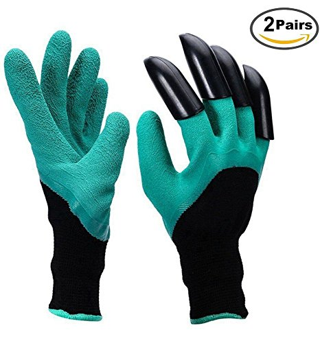 garden-genie-gloves-abs-plastic-claws-gardening-gloves-for-planting-digging-and-weeding-2-pairs
