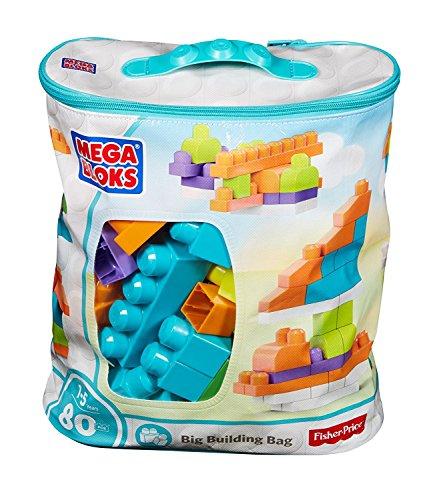 Mega Bloks Big Building Bag - 80 Pieces