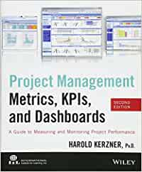 project management metrics kpis and dashboards by harold kerzner pdf