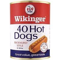 Vikingo 40 Hot Dogs estilo Salchicha en Salmuera - 1 x 4100gm