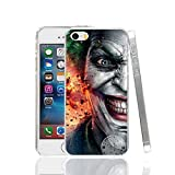 Ch le Joker Jared Leto Suicide Squad iPhone 4 Coque Super-vilain Superhero Fantasy Science Fiction film 4S Coque Harley Quinn Margot Robbie DVD Movie Bande dessinée Super Hero Batman, plastique rigide