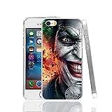 Ch le Joker Jared Leto Suicide Squad iPhone 4Coque Super-vilain Superhero Fantasy Science Fiction film 4S Coque Harley Quinn Margot Robbie DVD Movie Bande dessinée Super Hero Batman, plastique rigide
