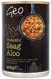 Geo Organics Organic Saag Aloo 400 g (Pack of 6)