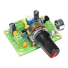 arlikits AR172 microfono amplificatore kit Elektret regolabile verde
