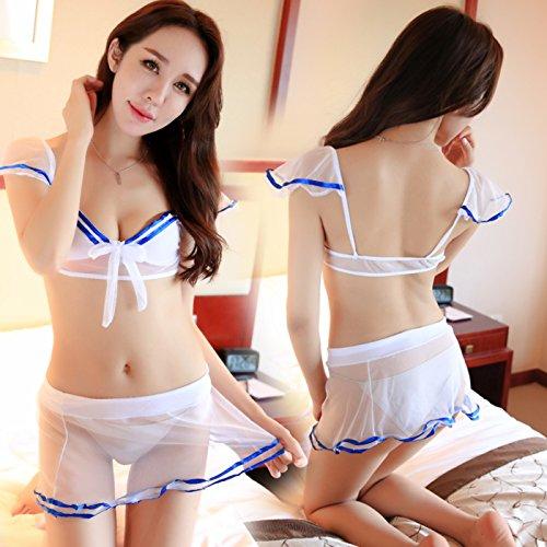 Roleeplay Super Sexy Dessous schöne Studenten Matrosenanzug Uniformen Sm Gaze Rock Anzug Princess Wind, ()
